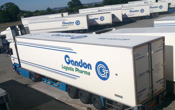 Flotte camions PHARMA